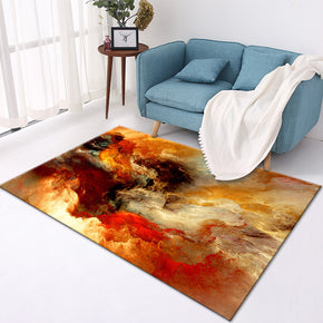 200*300cm Orange Gradient Modern Pattern Simplicity Rugs