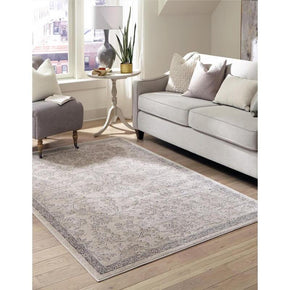 Beige Vintage Printed Luxurious Carpets For the Living Room Bedroom Hall Area Rugs