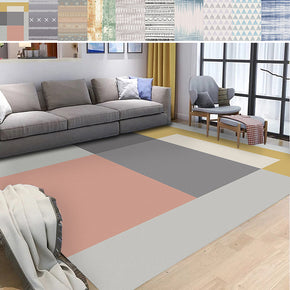 Modern Geometric Patterned Area Rugs Customizable