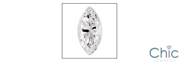 1.5 Ct Marquise Cubic Zirconia CZ Loose stone