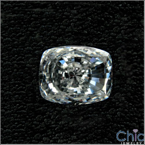 2 Ct Radiant Cushion Cubic Zirconia CZ Loose stone
