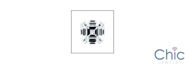 4 Ct Royal Asscher Cubic Zirconia CZ Loose stone