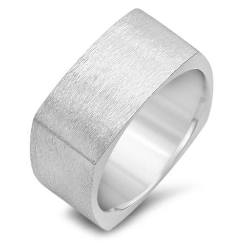 Mens 9MM Euro  Shape Wedding Band