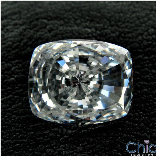 4 Ct Radiant Cushion Cubic Zirconia CZ Loose stone