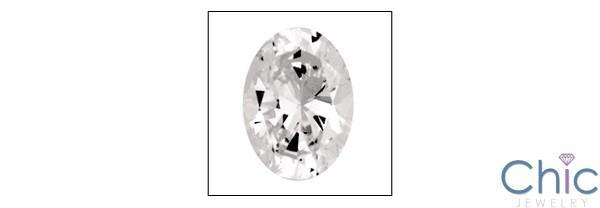 1.5 Ct Oval Shape Cubic Zirconia CZ Loose stone