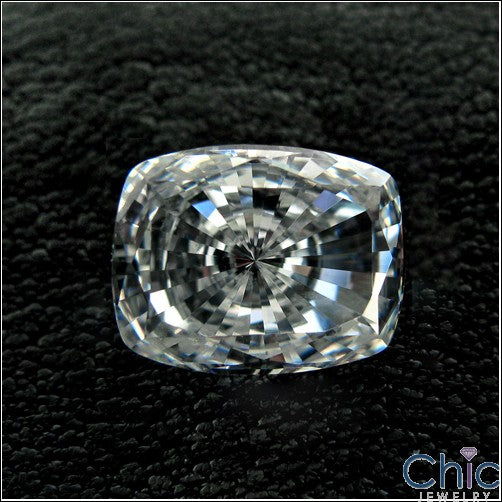 3 Ct Radiant Cushion Cubic Zirconia CZ Loose stone
