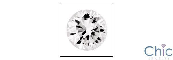1 Ct Round Brilliant Cubic Zirconia CZ Loose stone