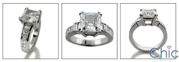 Anniversary Princess 2 Ct Cubic Zirconia Cz Ring