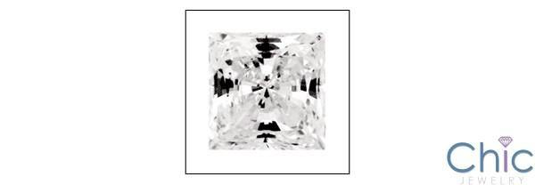 1 Ct Square Princess Cubic Zirconia CZ Loose stone