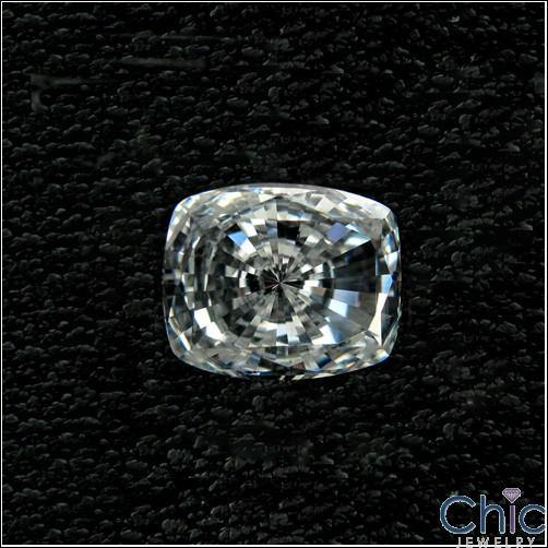 1 Ct Radiant Cushion Cubic Zirconia CZ Loose stone