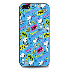 Snoopy Peanuts Music coque iPhone 5 | 5S | SE,SE SE,Snoopy Peanuts Music coque iPhone 5 | 5S | SE