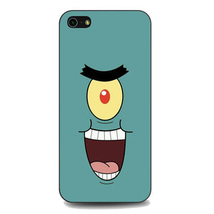 Spongebob Plankton Face coque iPhone 5 | 5S | SE,5S Spongebob Plankton Face coque iPhone 5,Spongebob Plankton Face coque iPhone 5 | 5S | SE