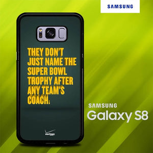 Qoutes Green Bay Packers O0884 coque Samsung Galaxy S8