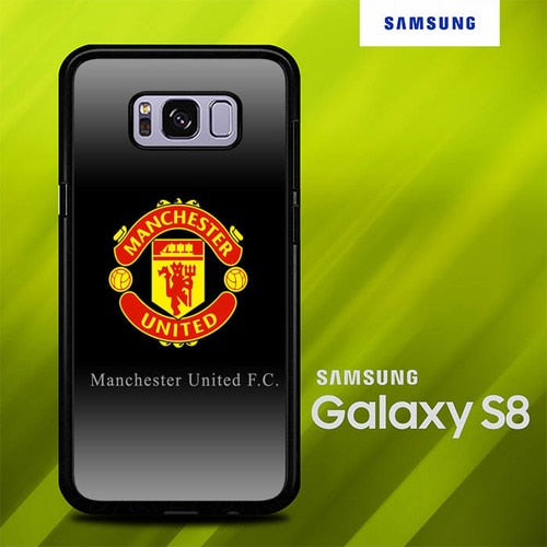 Manchester United O7687 coque Samsung Galaxy S8
