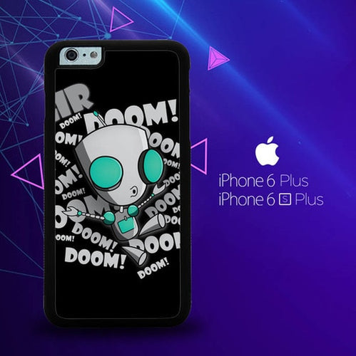 invader zim gir doom song Z0621 coque iPhone 6 Plus, 6S Plus