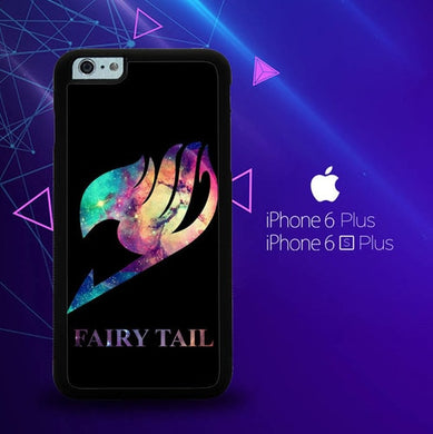 Fairy Tail Logo Galaxy Space Z0172 coque iPhone 6 Plus, 6S Plus