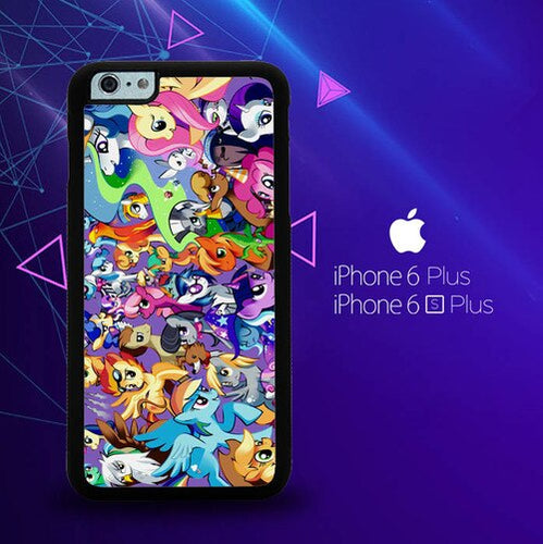 MY LITTLE PONY COLLAGE Z1359 coque iPhone 6 Plus, 6S Plus