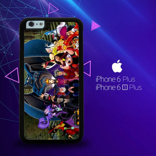 New Disney Villains Z1466 coque iPhone 6 Plus, 6S Plus