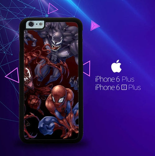 Spiderman Venom Carnage Back Z1619 coque iPhone 6 Plus, 6S Plus