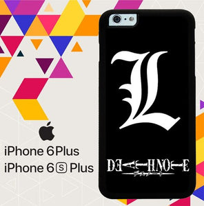 DEATH NOTE LIGHT LOGO Z4365 coque iPhone 6 Plus, 6S Plus
