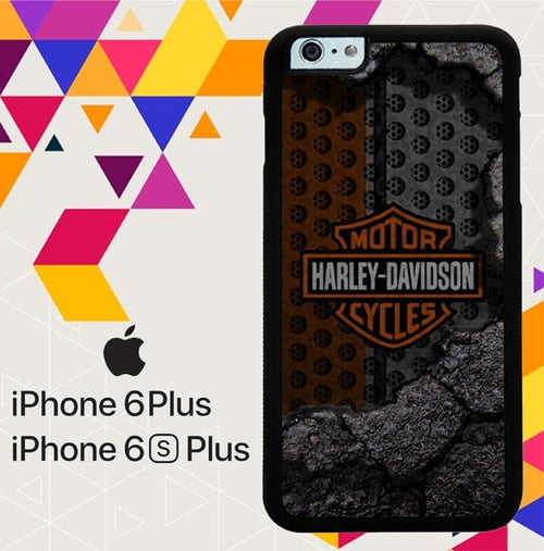 Harley Davidson Logo Z5685 coque iPhone 6 Plus, 6S Plus