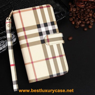 burberry plaid coque iphone 6