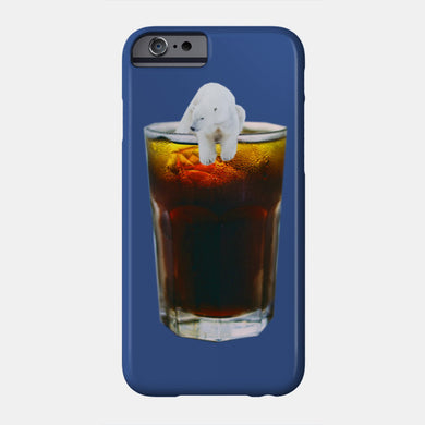 coca cola polar bear coque iphone 6