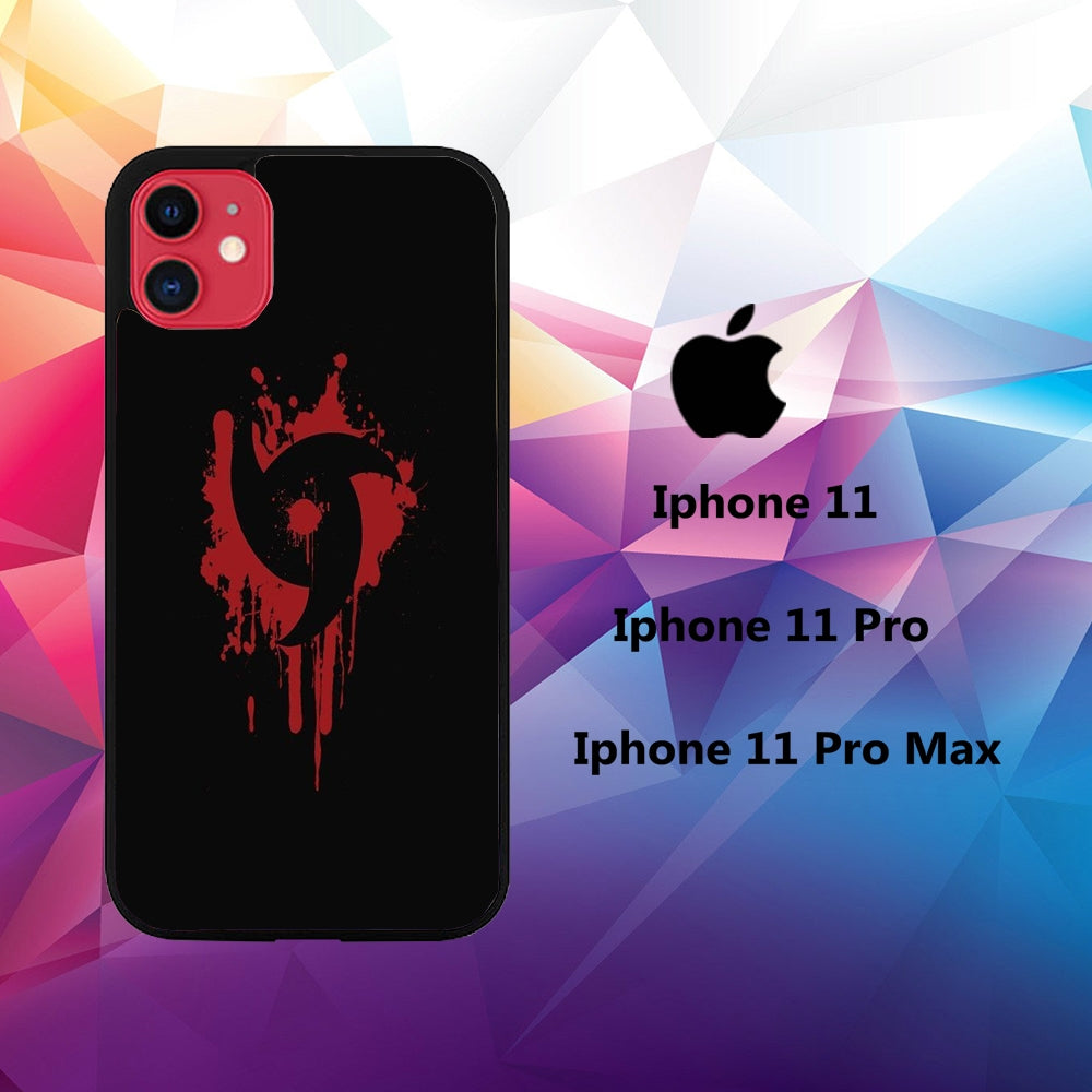 coque iphone 11 pro max sasuke uchiha sharingan wallpaper