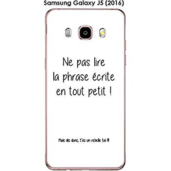 coque citation samsung j5