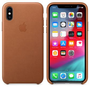 coque en cuir iphone xs apple