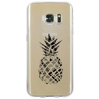 coque galaxy s7 edge ananas