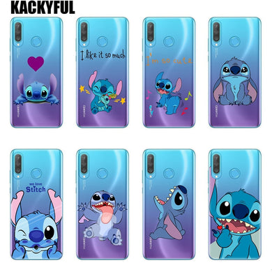 coque huawei p30 disney stitch