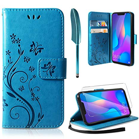 coque huawei p smart portefeuille