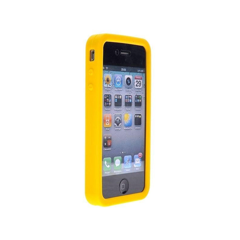 coque iphone 4 jaune