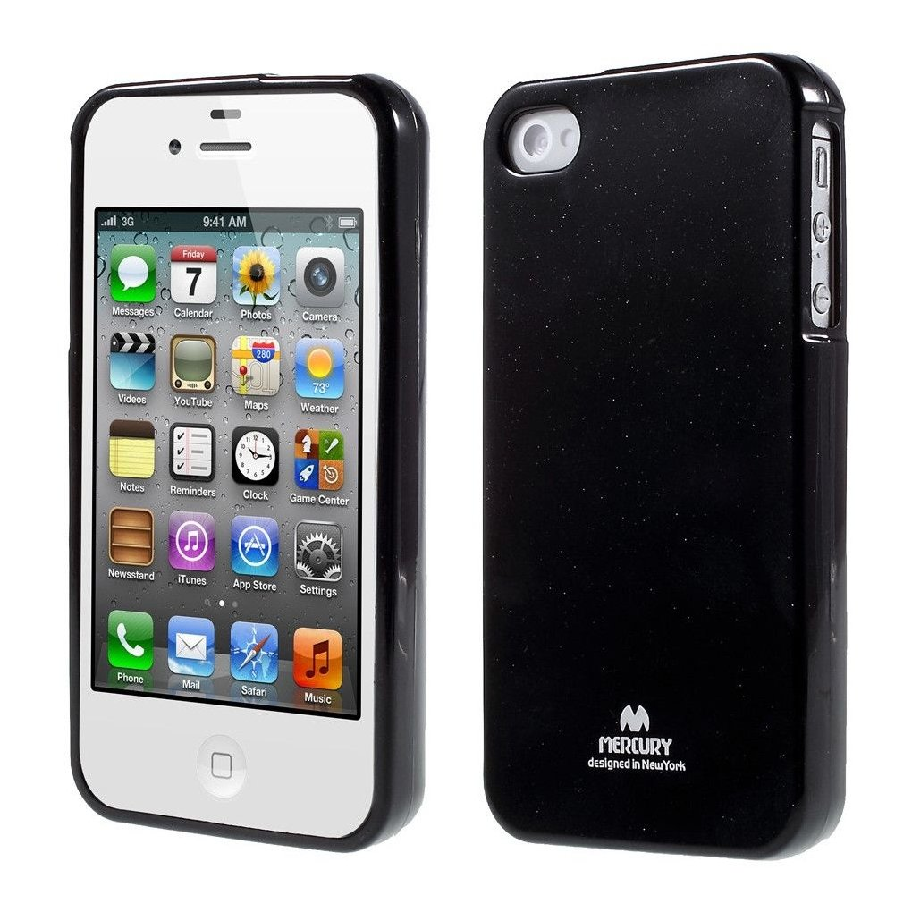 coque iphone 4 silicone noir