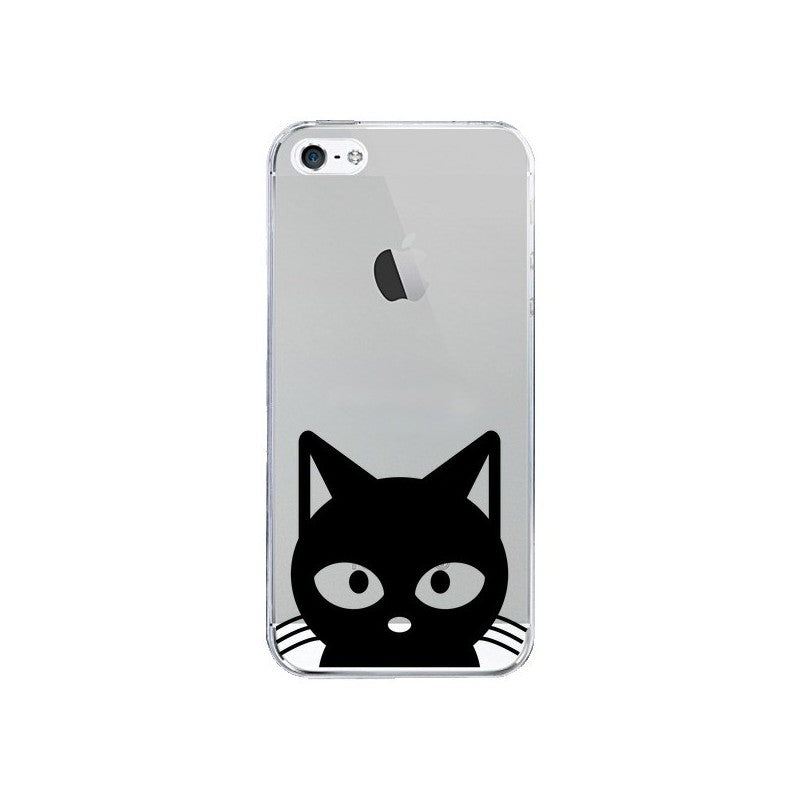 coque iphone 5 chat noir