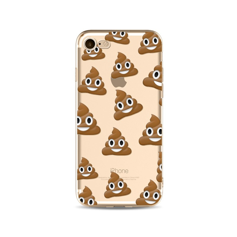 coque iphone 5 emoji caca