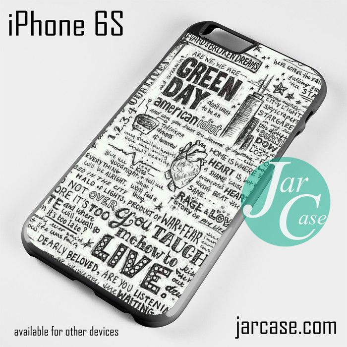 coque iphone 6 green day