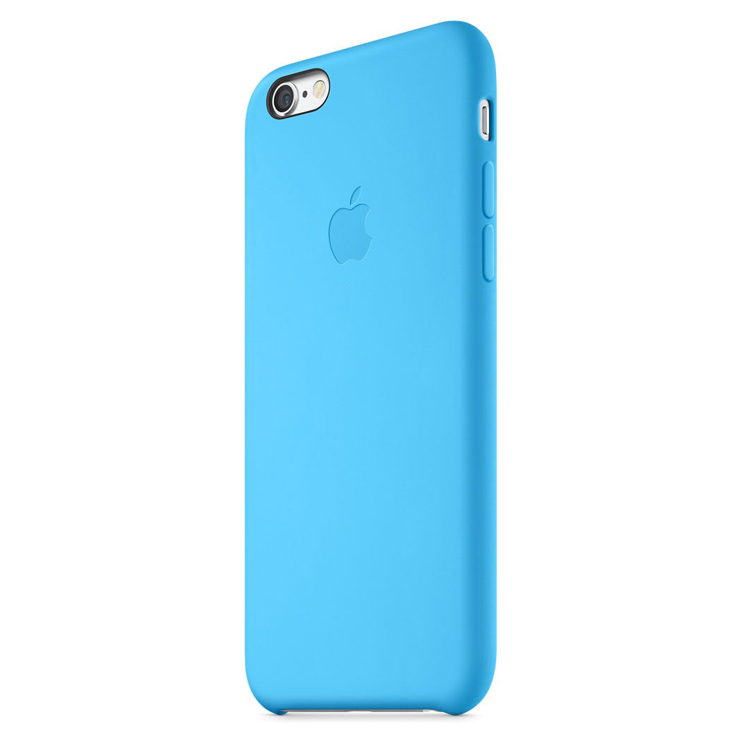 coque iphone 6 silicone bleu