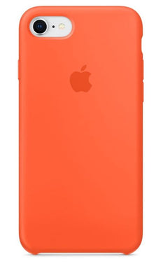 coque iphone 7 orange fluo apple
