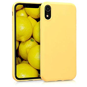 coque iphone xr apple original jaune