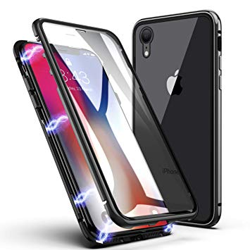 coque iphone xr en verre trempe