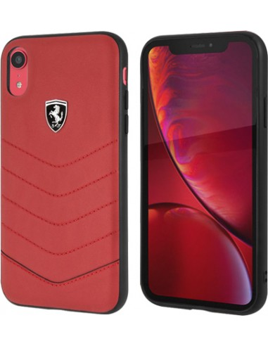 coque iphone xr ferrari rouge