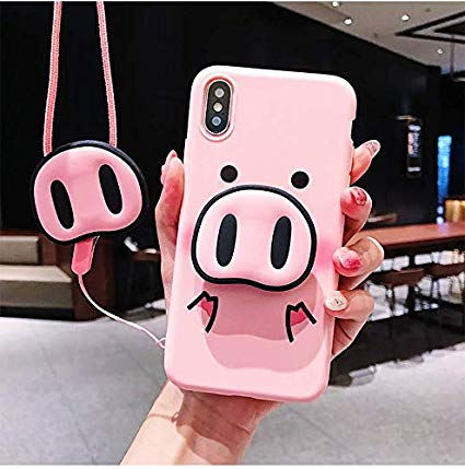 coque iphone xs max cochon