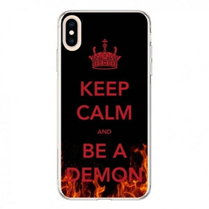 coque iphone xs max keep calm