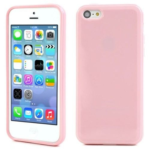 coque rose pale iphone 5