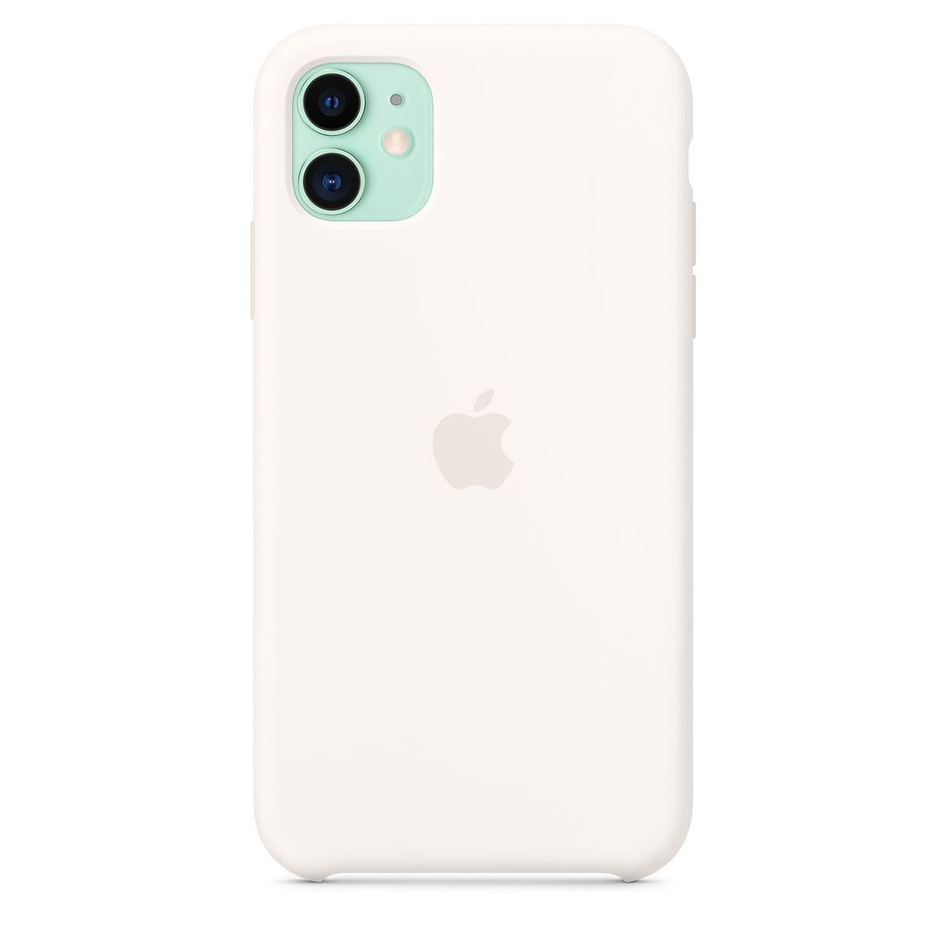 coque silicone iphone 11 microfibre