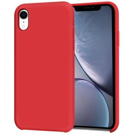 coque souple iphone xr rouge
