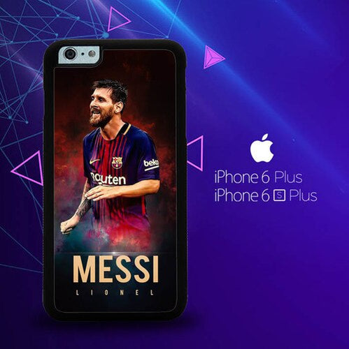 Leo Messi X7023 coque iPhone 6 Plus, 6S Plus