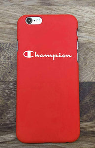 iphone 6 coque silicone champion